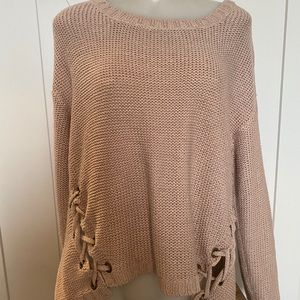 Rd style knit light pink